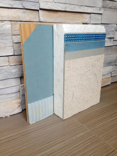 exterior foam board stucco cladding the systems consist primarily of polystyrene foam board with textured acrylic finish that resembles plaster or stucco exterior claddings calgary airdrie okotoks high river chestermere